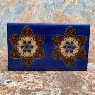 Blue Double Flower Box