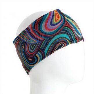 Infinity Bandana-Colorful Swirls